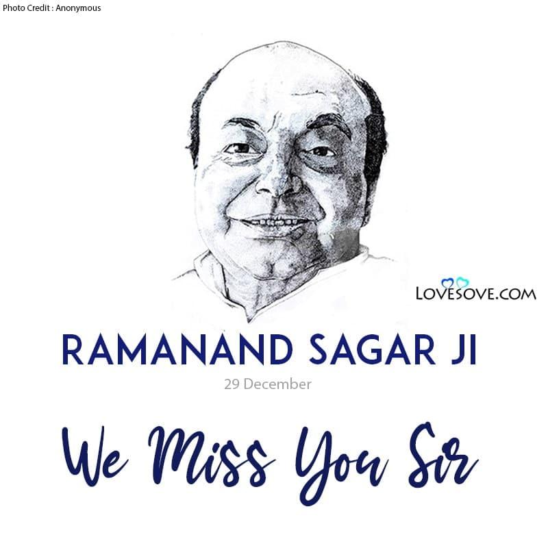 Ramayan Ramanand Sagar Quotes, Ramanand Sagar Motivational Quotes, Ramanand Sagar Inspiring Lines, Ramanand Sagar Inspirational Status, Ramanand Sagar Thoughts, Ramanand Sagar Lines,