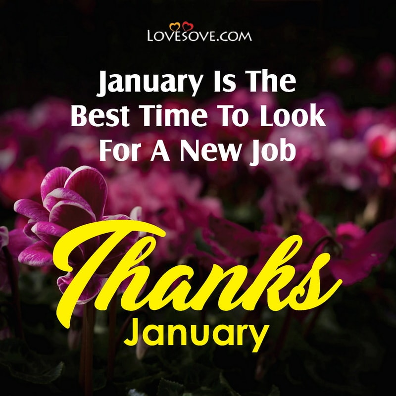 Thanks January Status Images