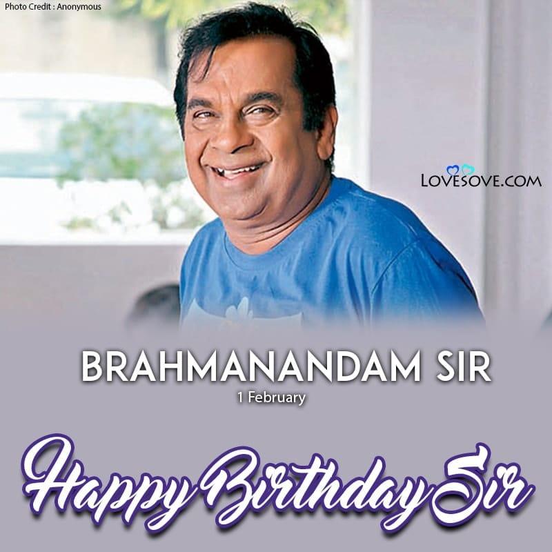 Happy Birthday Brahmanandam, Brahmanandam Birthday Wishes, Birthday Wishes For Brahmanandam, Brahmanandam Happy Birthday,