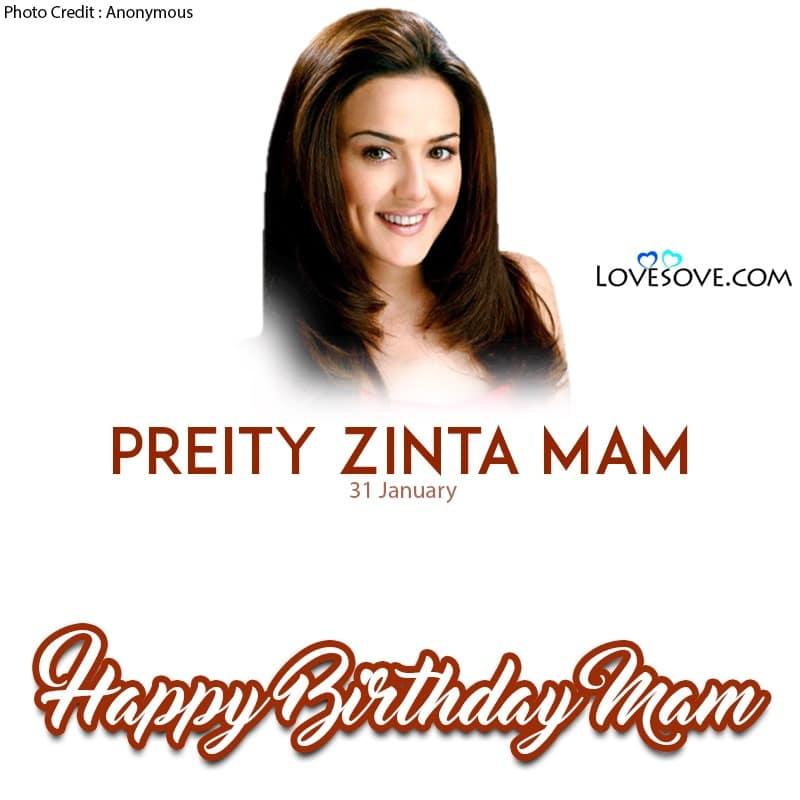 Happy Birthday Preity Zinta, Preity Zinta Birthday Wishes, Birthday Wishes For Preity Zinta, Preity Zinta Happy Birthday,