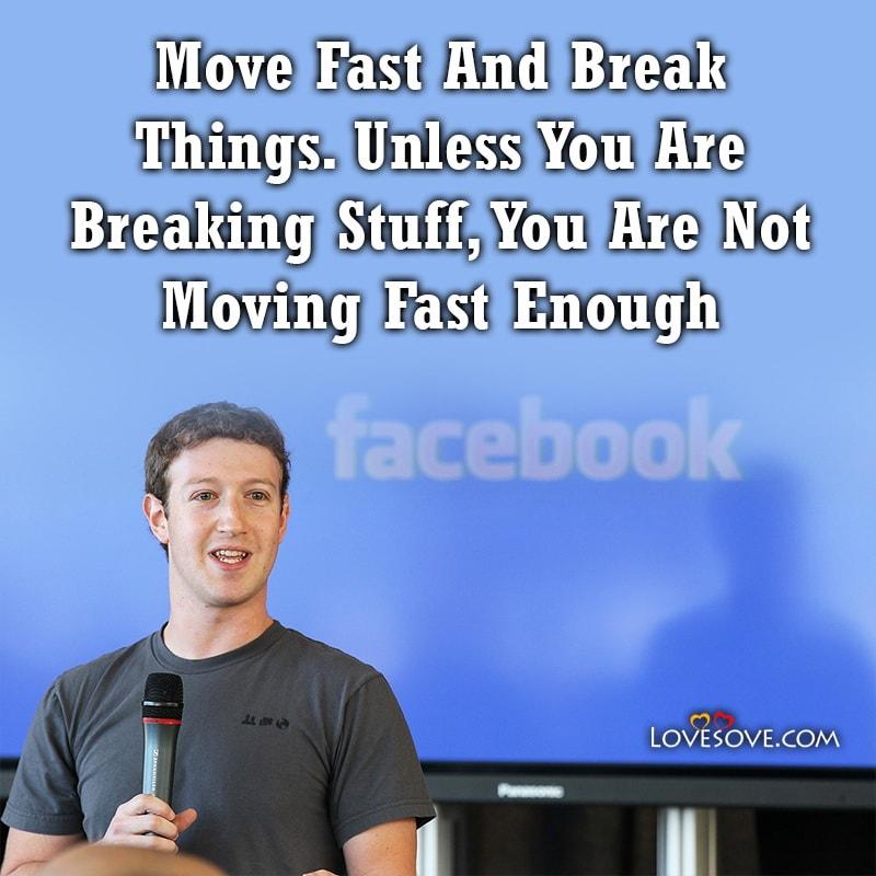 Mark Zuckerberg Quotes About Facebook, Mark Zuckerberg Quotes About Failure, Mark Zuckerberg Quotes In English, Mark Zuckerberg Quotes On Risk,
