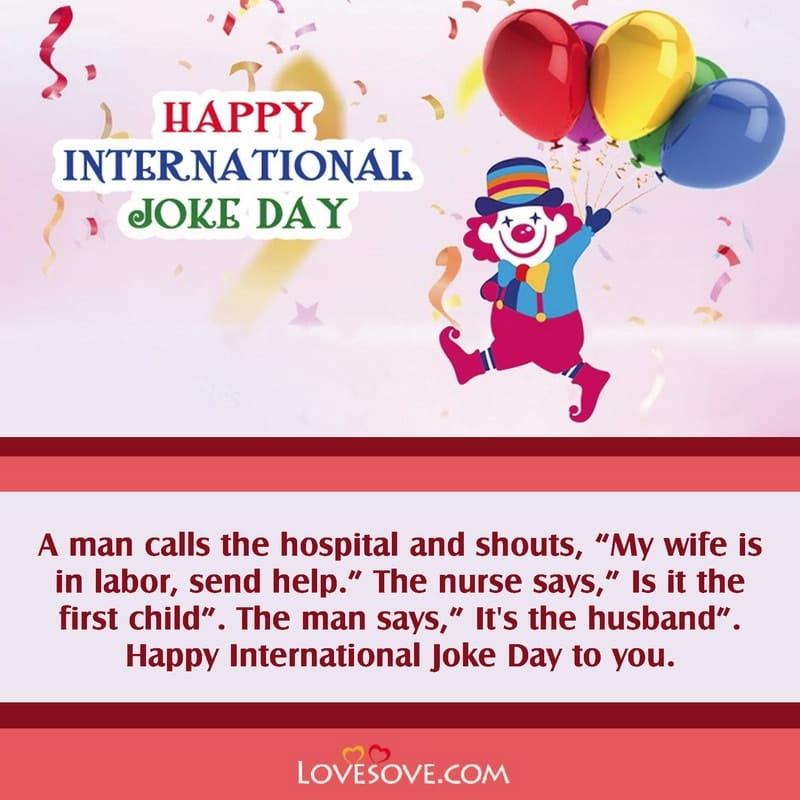International Joke Day Thought, International Joke Day Images, International Joke Day Theme,