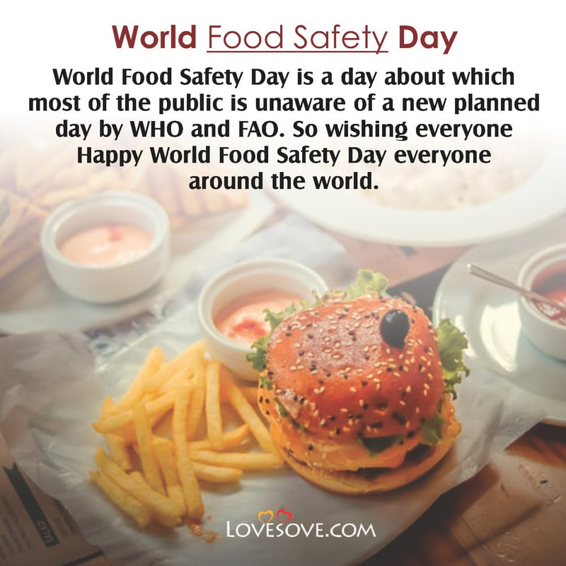 World Food Safety Day Captions, World Food Safety Day Facebook, World Food Safety Day Facts, World Food Safety Day Hd Images,
