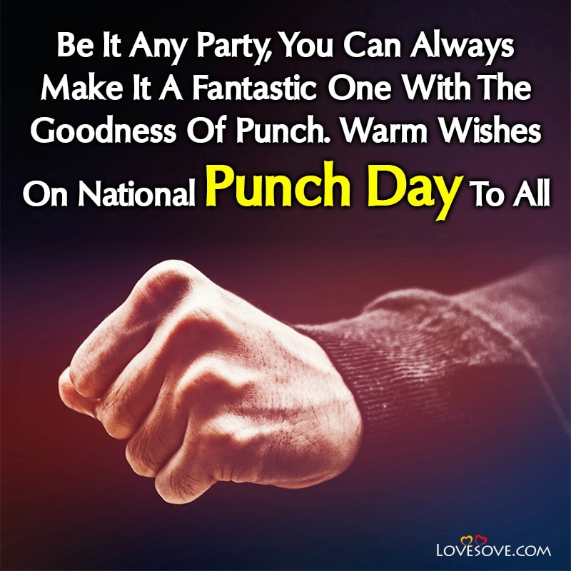 National Punch Day Thought, National Punch Day Inspiring Quotes, National Punch Day Motivational Quotes,