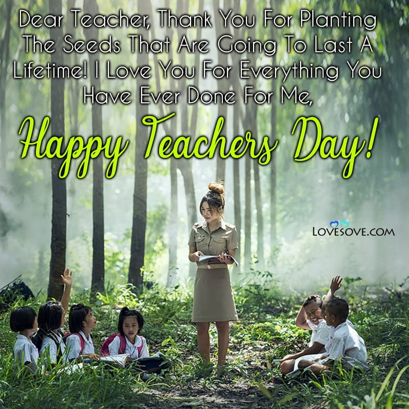 Teachers Day Messages From Parents, Teachers Day Greeting Messages In English,